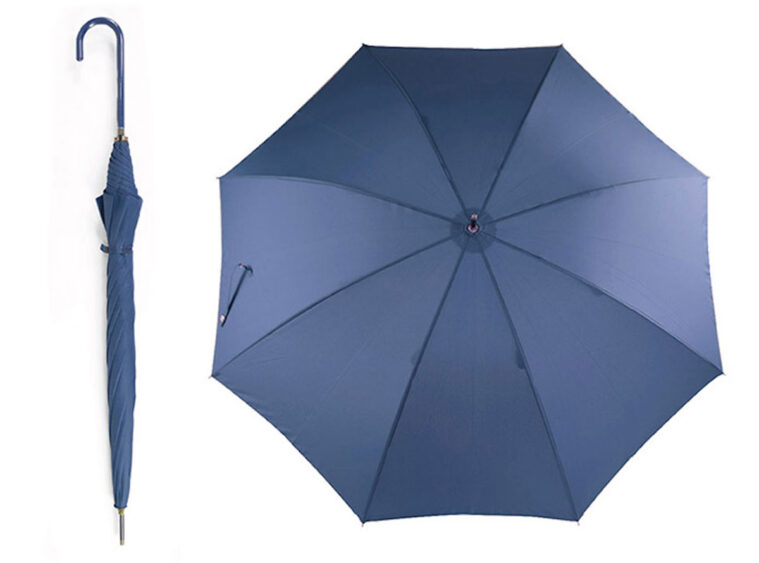 Oμπρέλα μεγάλη μονόχρωμη μπλε